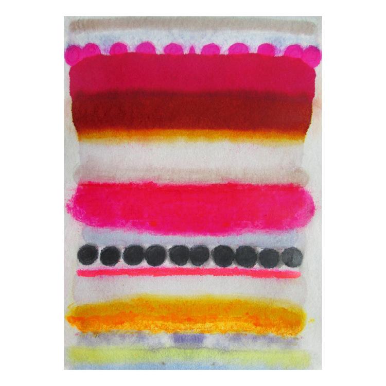 Today'sinspiration: Kristi Kohut's line painting on rice paper.