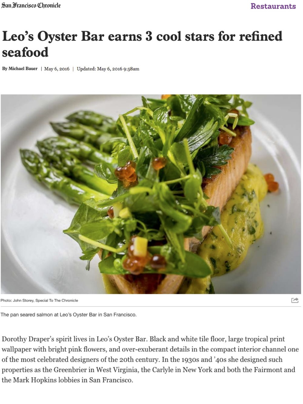 Leo's - SF Chron 3 Star Review, May 2016.jpg