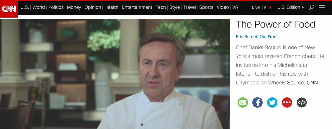 Chef Daniel Boulud Is One Of New Yorku0027s Most Revered French Chefs. He  Invites Us Into His Michelin Star Kitchen To Dish On His Role With  Citymeals On ...