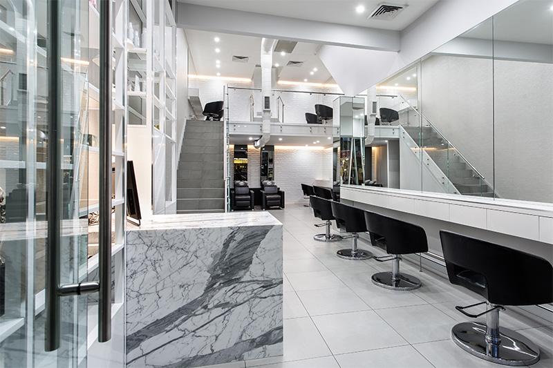 Studio Ombre Interior Design Sloans Hair Salon Studio Ombre