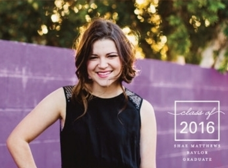 outside of the box graduation announcement @ minted.com