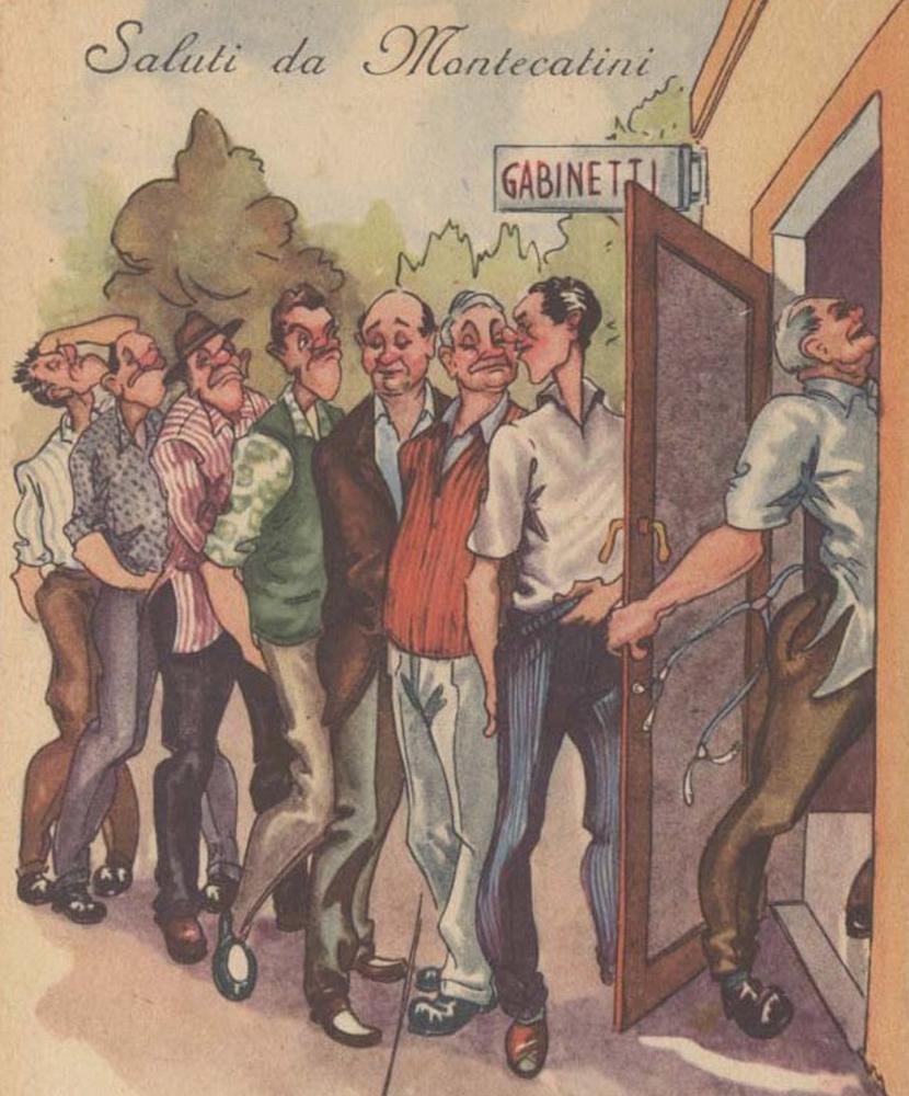 An undated Italian cartoon