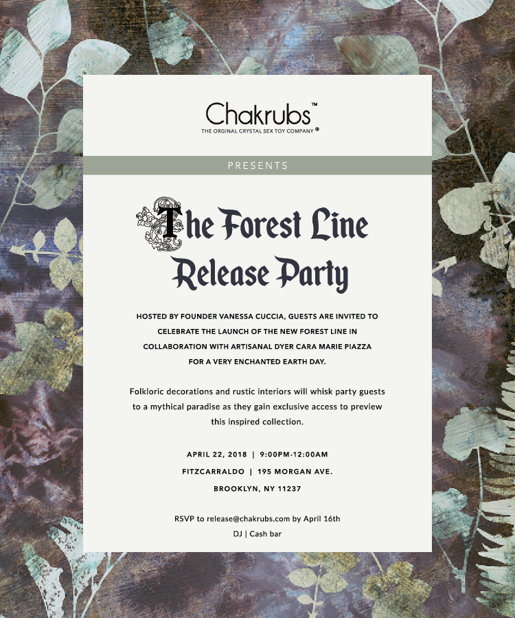 Chakrubs Invitation