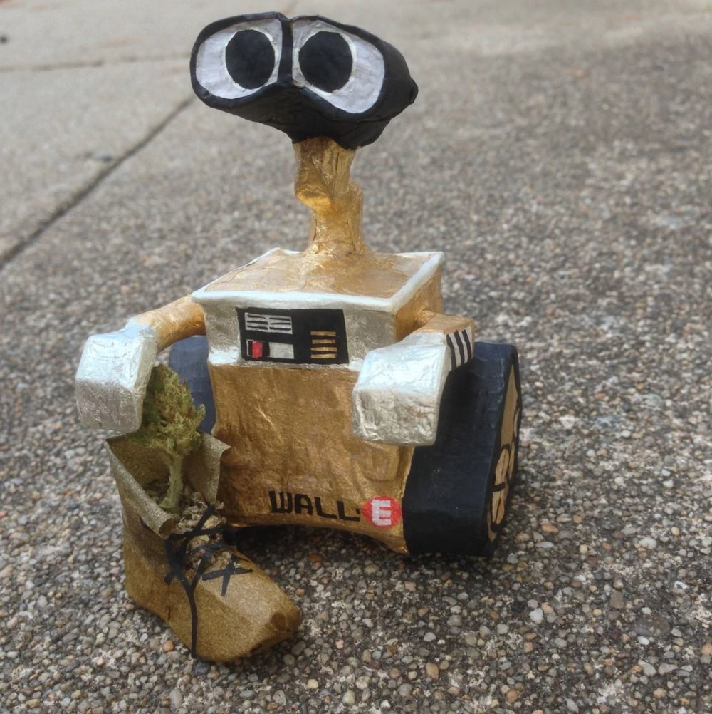 Wall-E. Photo courtesy of Dawn Doan.
