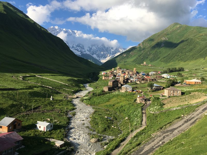 The sweeping mountains and climes of the Svaneti region.