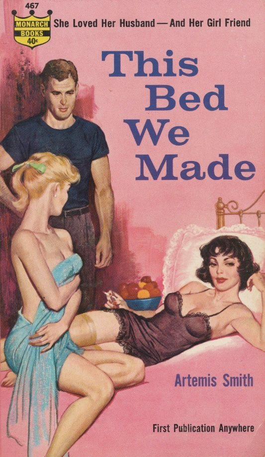 In 1961, Artemis Smith published  This Bed We Made , about a young woman who cannot find sexual fulfillment with her husband.