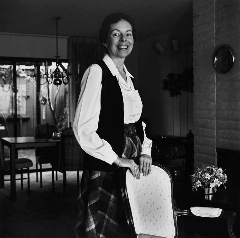 The photographer Robert Giard's 1989 portrait of Ann Bannon.COURTESY THE ESTATE OF ROBERT GIARD