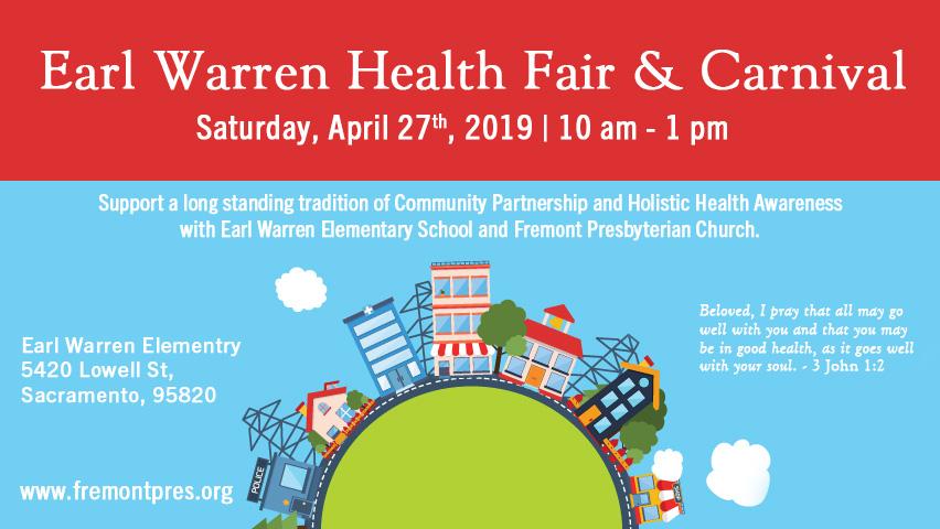 Earl Warren Health Fair and Carnival — Fremont Presbyterian Church