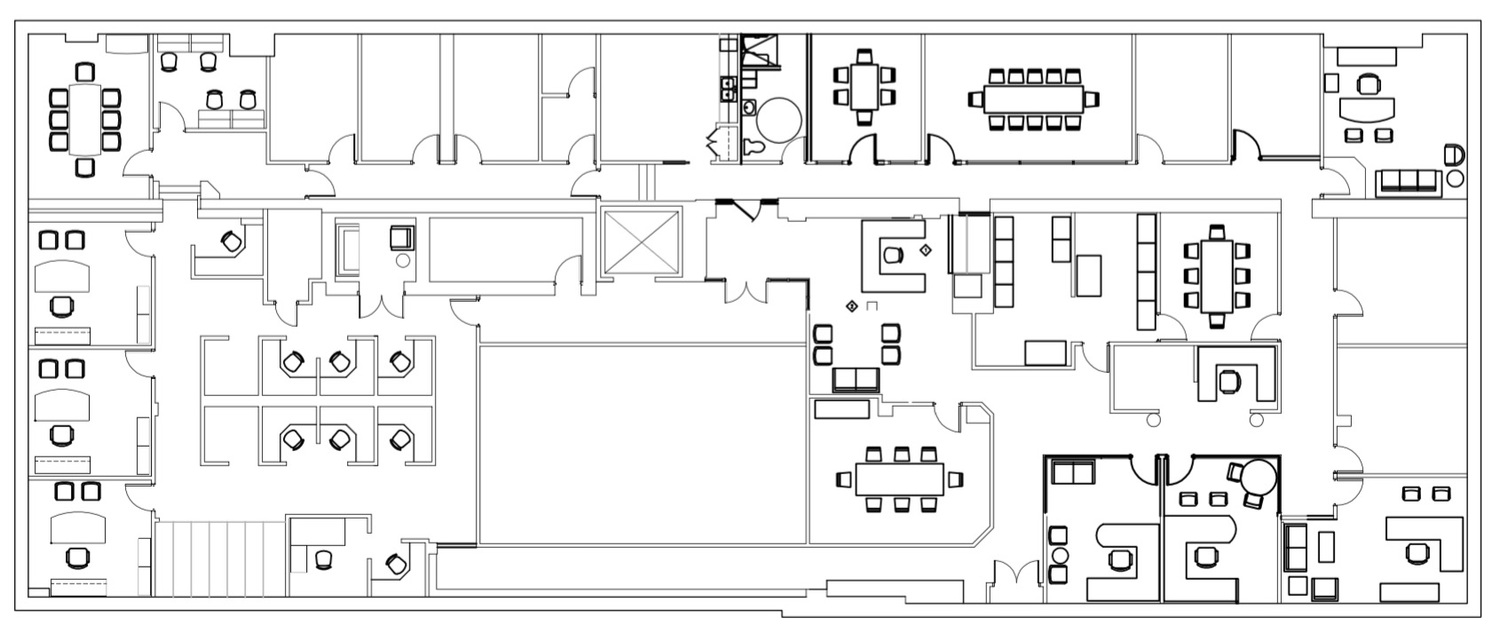 floor plan of the office. 3rd Floor Plan Of The Office