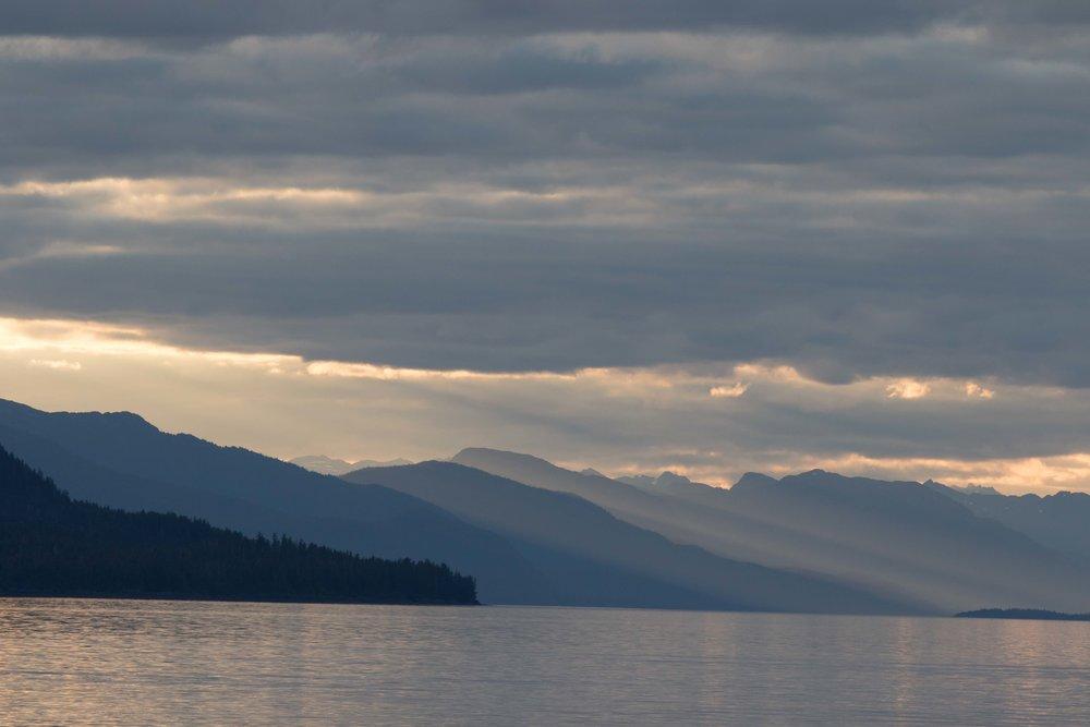 Alaska light and layers