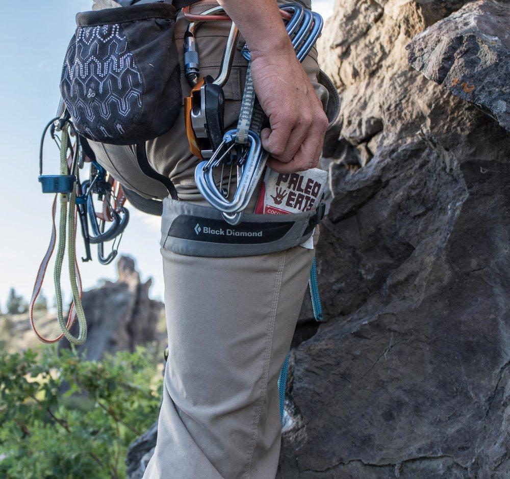 Paleo Eats climbing