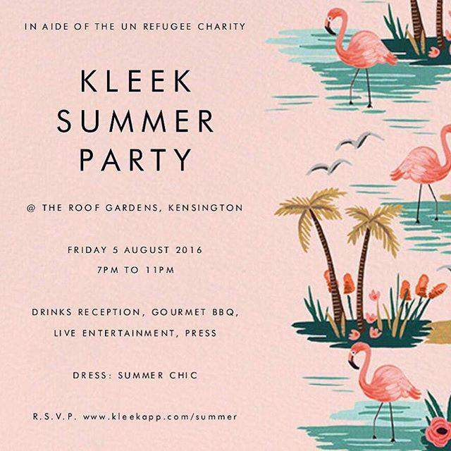 Our summer party is tomo!! RSVP link in our bio 🍍☀️🍸🍾