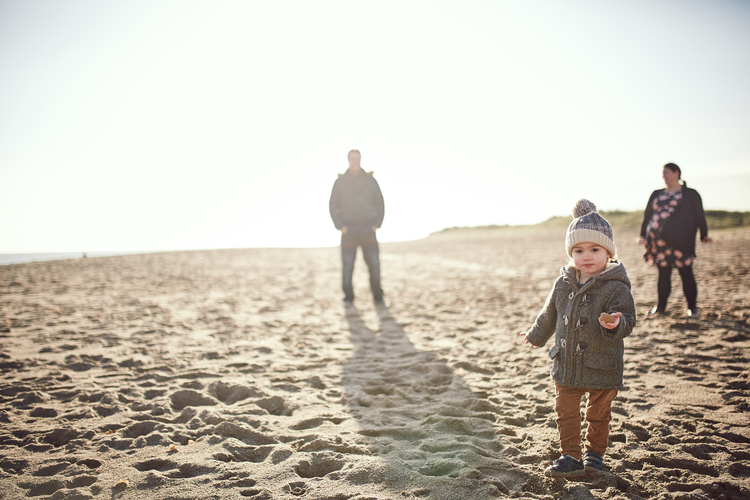 A Lincolnshire beach portrait