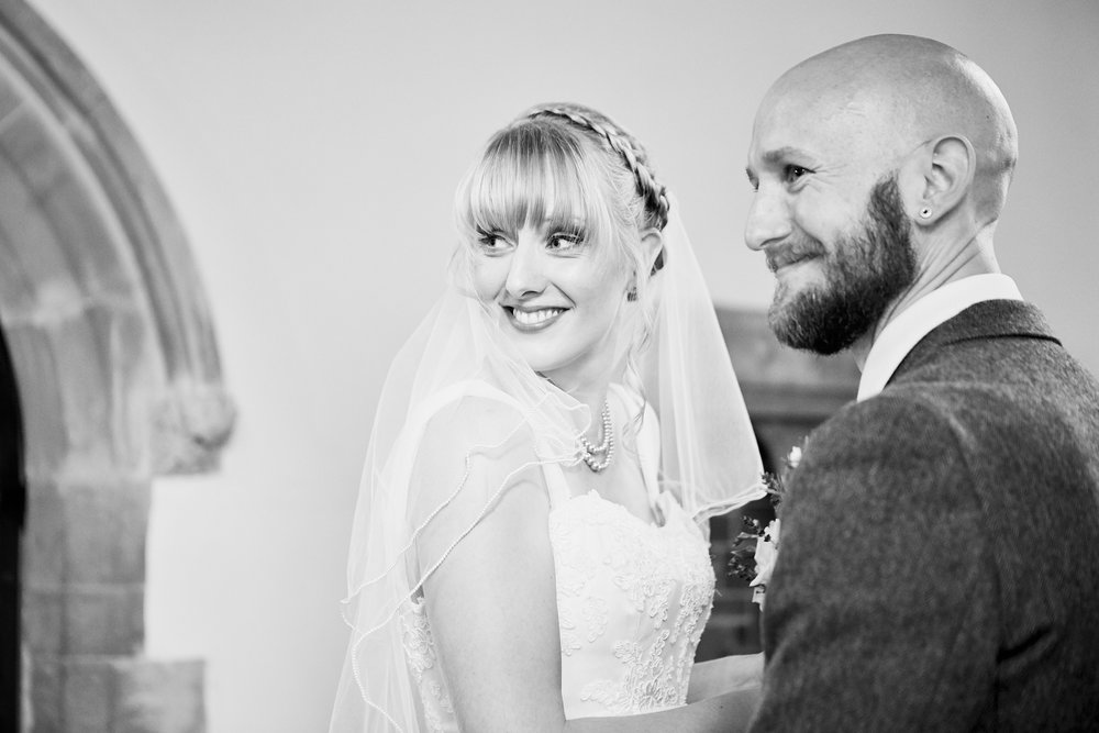 A couple on their wedding day by Lincolnshire wedding photographer 166 photography