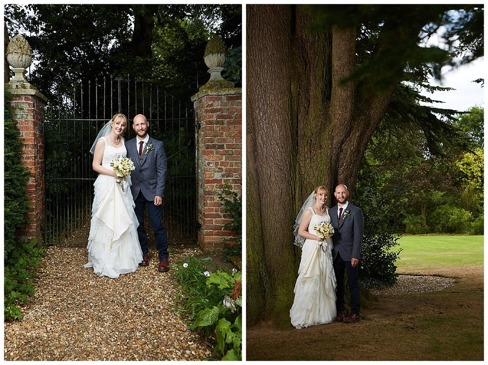 The wedding of Rebecca & George at Gunby Hall, Lincolnshire followed by a recpetion at Batemans brewery.