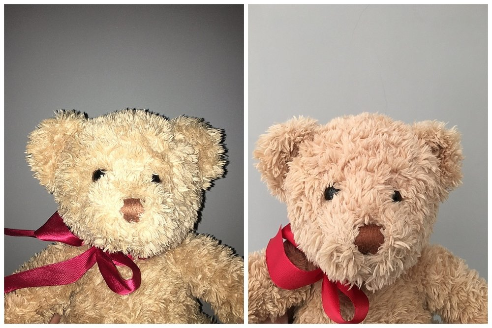 This before and after shows the difference lighting can make. Read on to find out how to light your photos better without spending a penny.