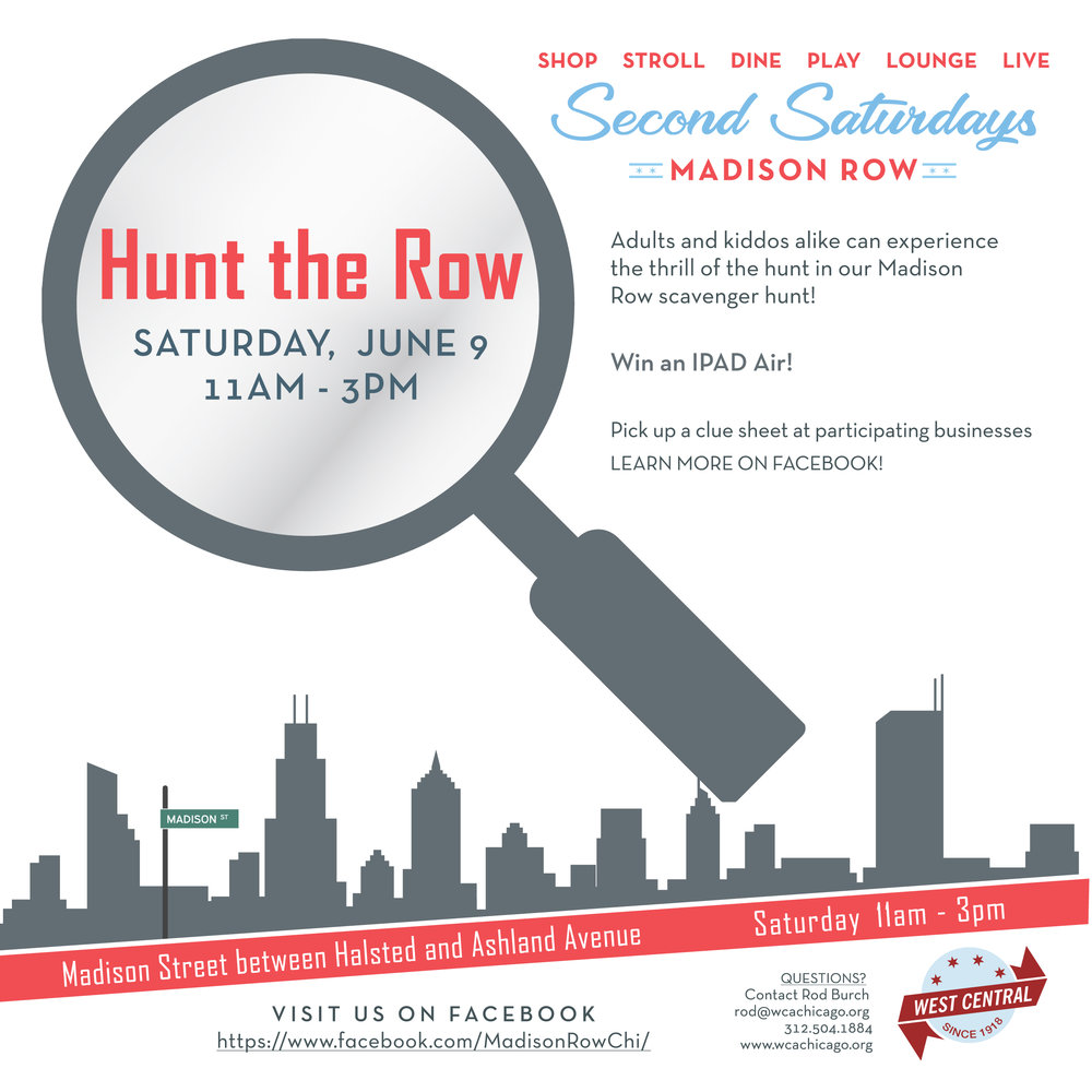 2018 Madison Row Saturday Events - hunt the row_INSTAGRAM POST.jpg
