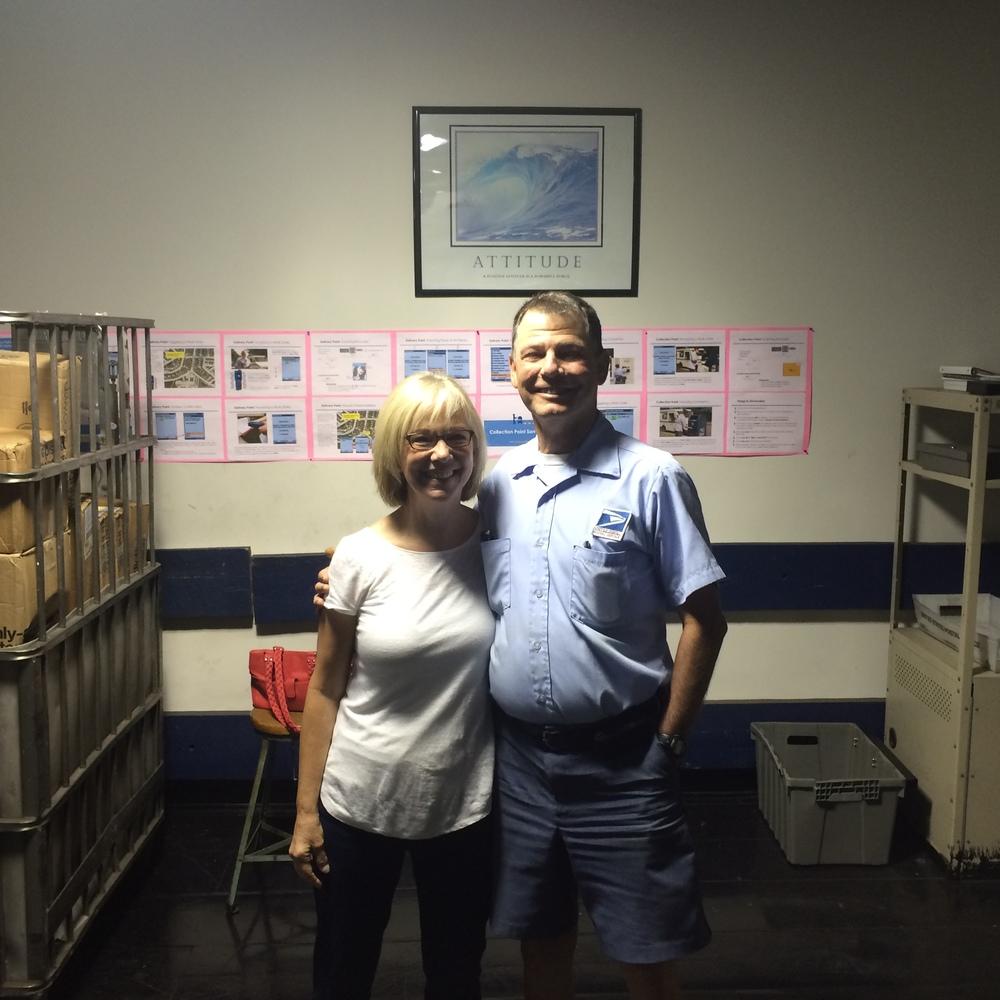 Tom Barnhardt & wife Polly