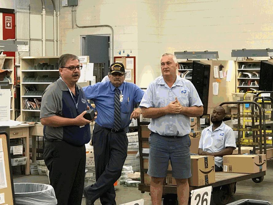 President Hornyak, 204B Tom Hogan, Bill Feyh, Tony Hancock