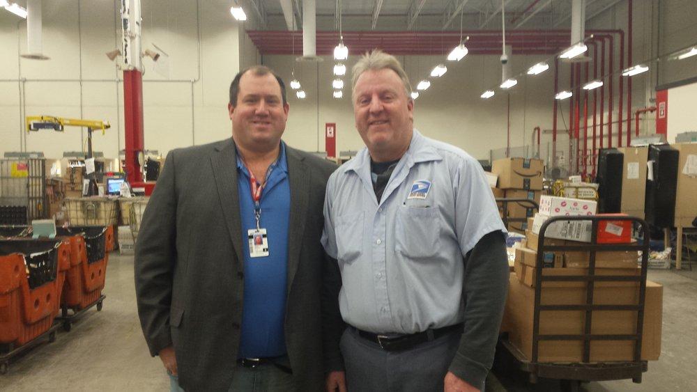 VP Mark Beach & Ed Boehm