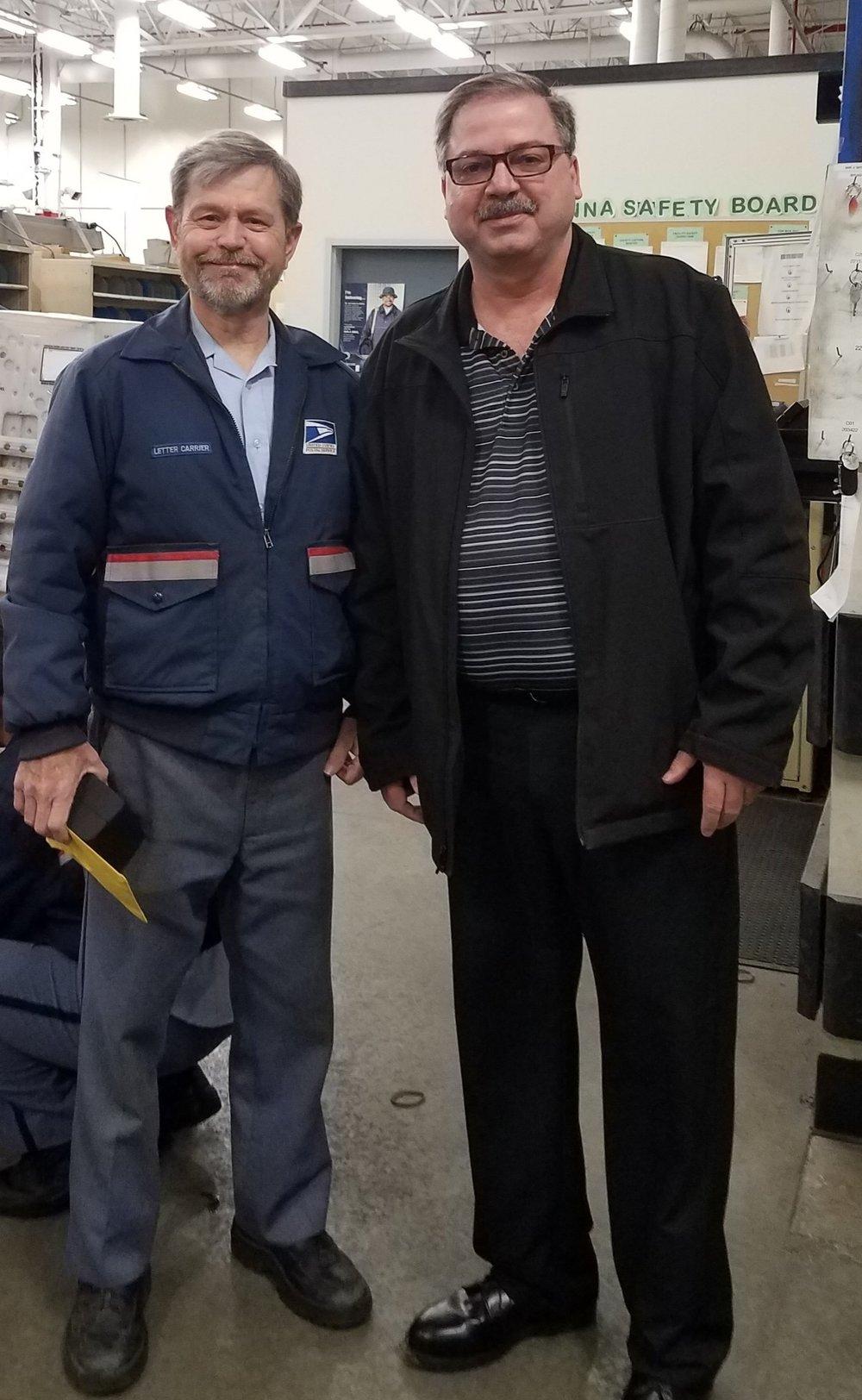 John Stevenson & President Hornyak