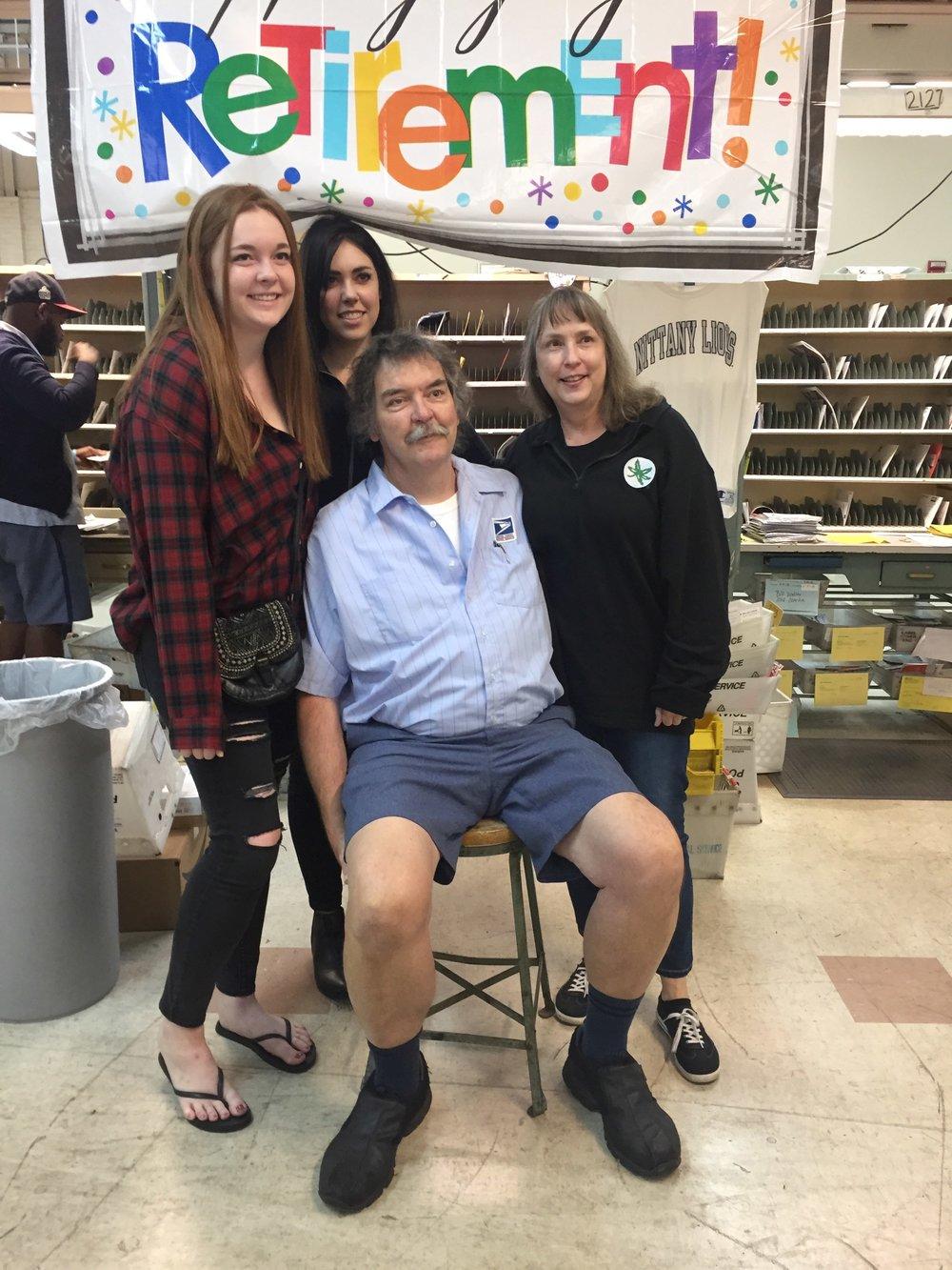 Chris Clawson & family