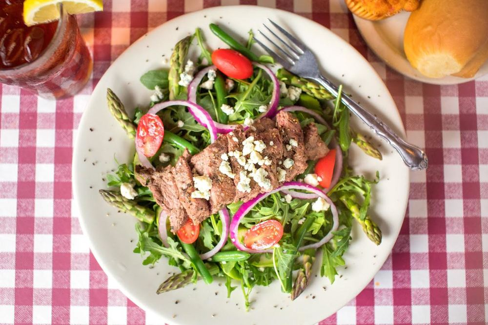 Blackened Steak Arugula Salad