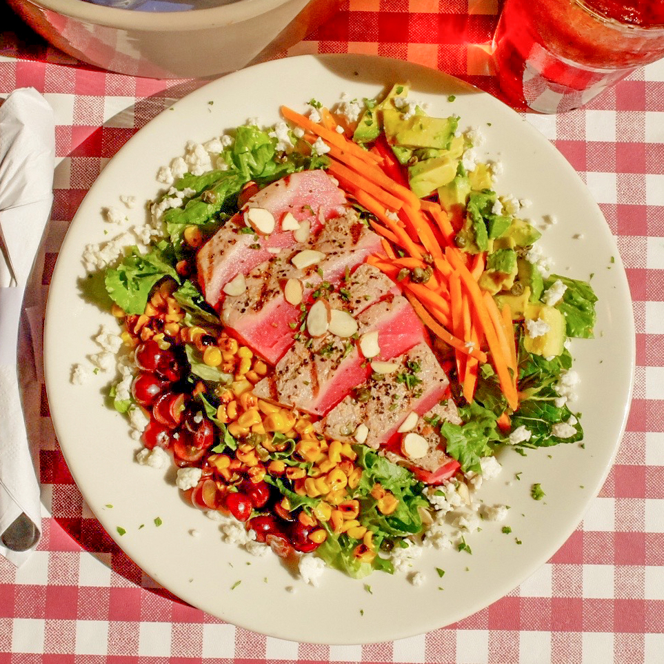 WEEK 4: Grilled Tuna Cobb Salad