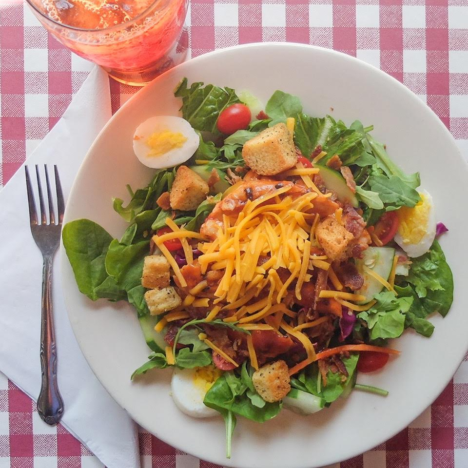 Barbecue Chicken Salad @ Threadgill's