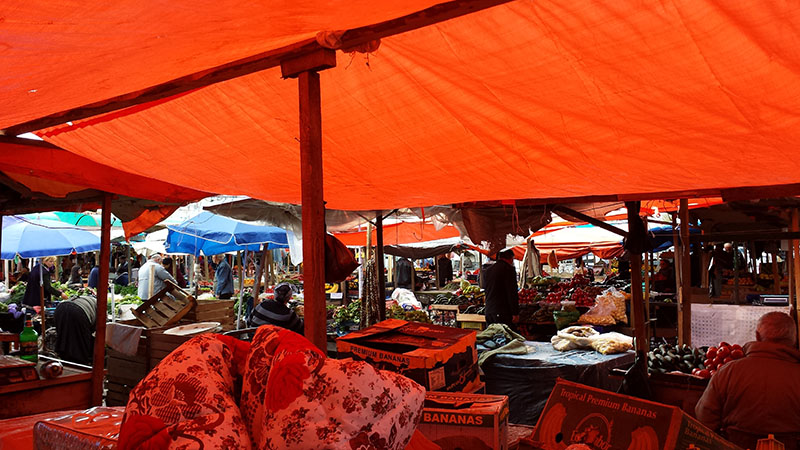 One of the Bazaars in Gori.