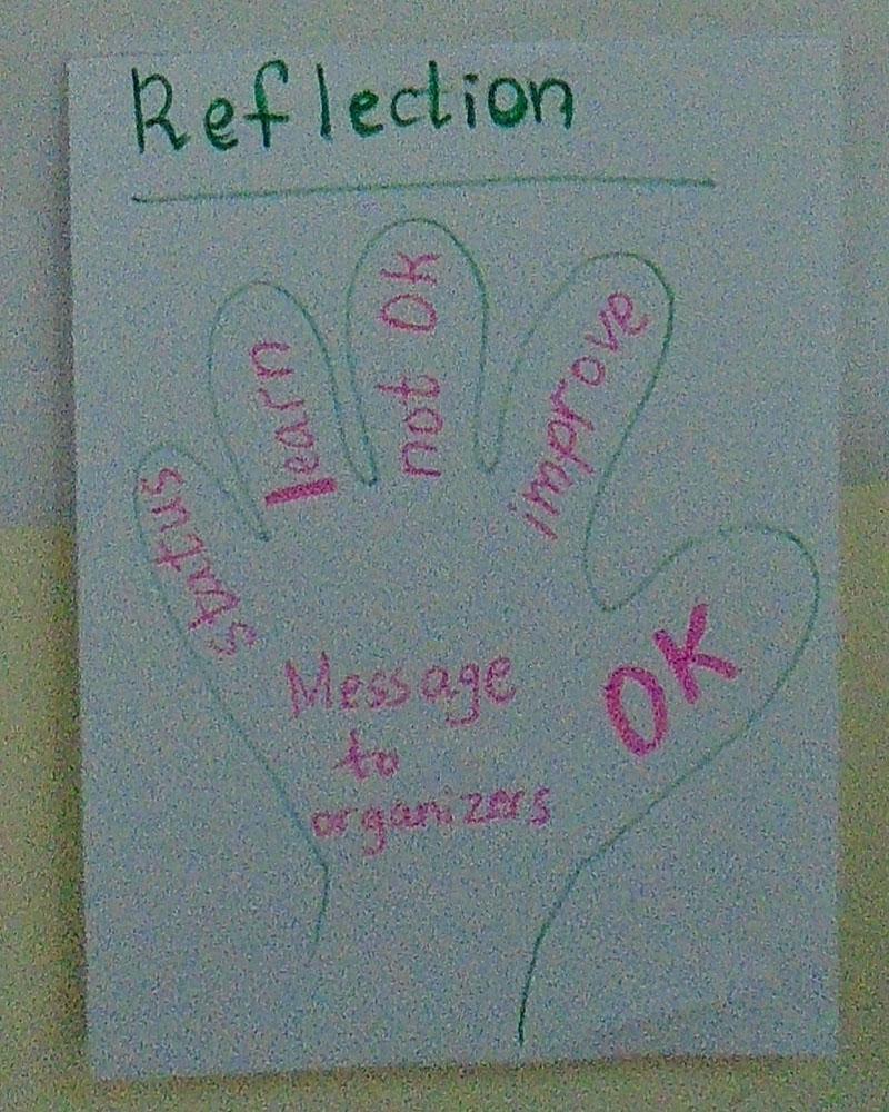 Five Finger Feedback model.