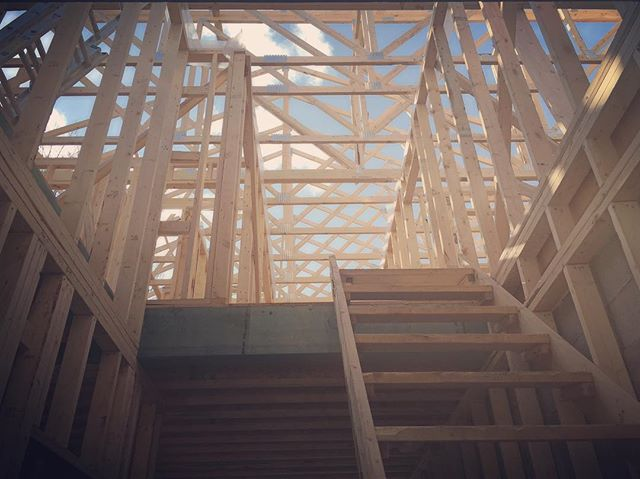 Going Up? . . . #ProjectPaddingtonHouse #Renovation #Build #LifeDesigned #Lifestyle #InteriorDesign