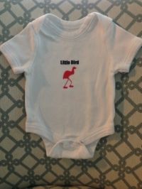 Little Bird onesie!