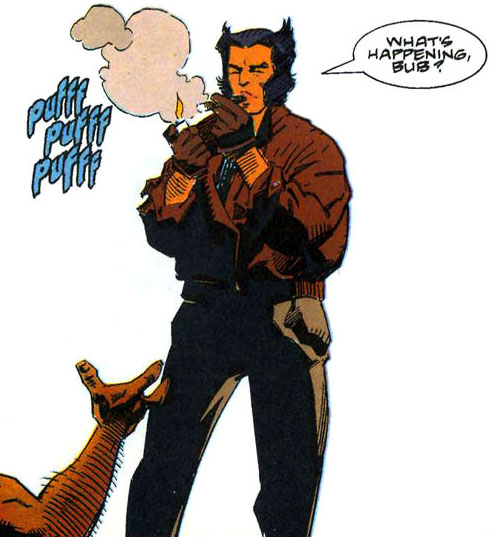 WOLVERINE'S PUFFS HAVE THREE 'F'S.