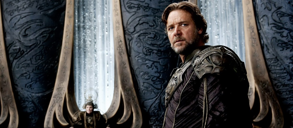 Russell Crowe is a brilliant scientist.