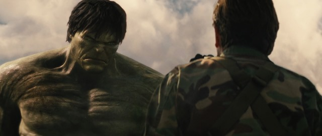 """Hulk is not much taller than Tim Roth."""