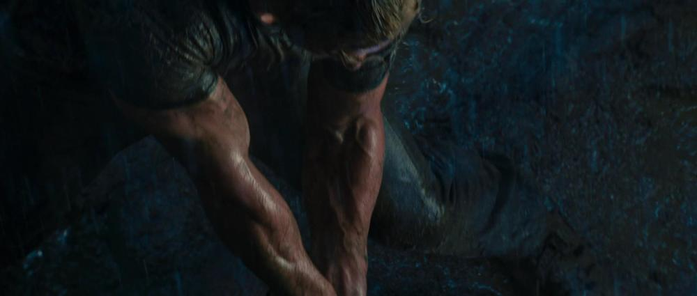 Whosoever has these arms, if he be handsome, shall be cast in the role of Thor