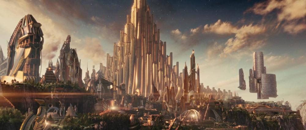 Less is more is not a rule that applies in Asgard.