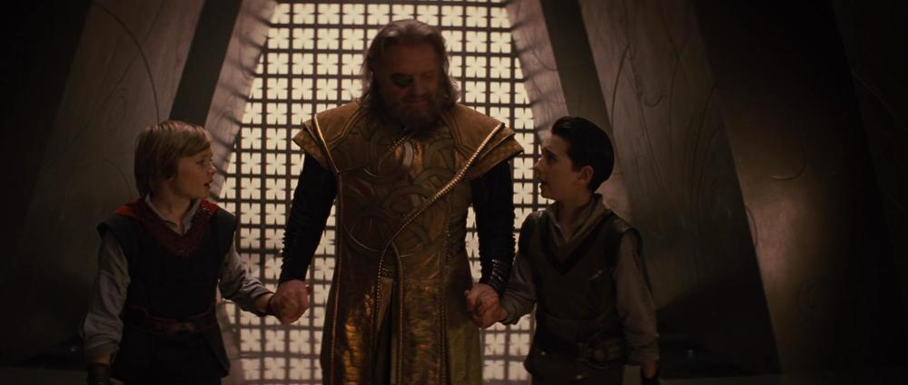 """Many women will be surprisingly into you when you grow up, Loki."""