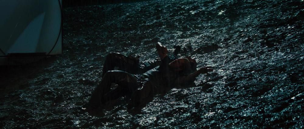 I would like a mud wrestling scene between Thor and Captain America in Age of Ultron, please.