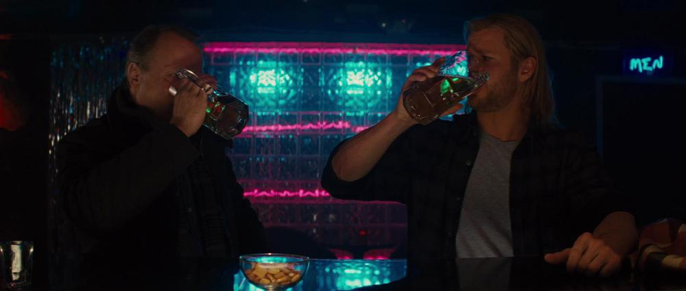Or a podcast: Drinkin' with Thor and Selvig.