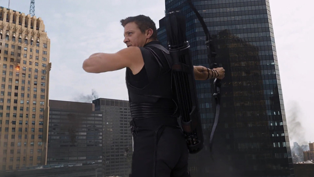 It takes guts to go sleeveless when you are in a movie with Chris Hemsworth.
