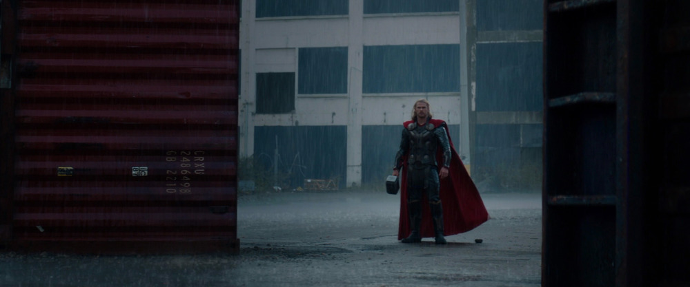 Wet, Hot, Asgardian Thor.