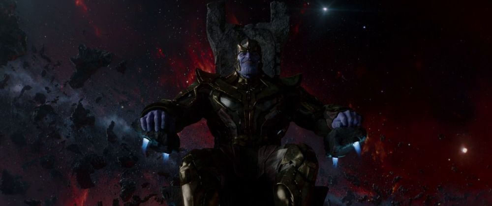 Oh yeah. Thanos is also in this movie.