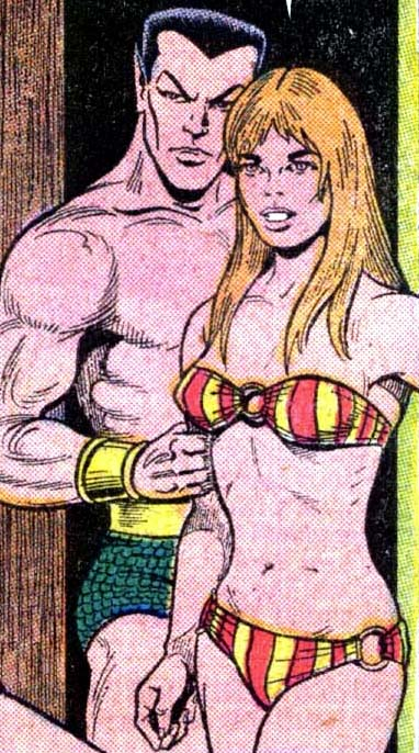 Namor does not care about this woman.