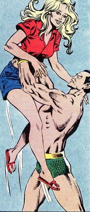Namor found this girl.