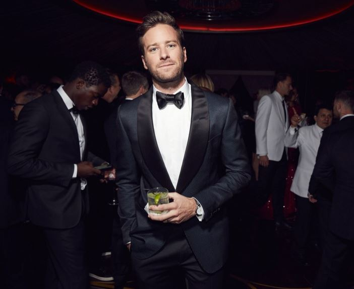 Armie, you dapper son of a bitch. Oh! And you've brought me a gin and tonic! How darling of you! I would like to join this Armie. Sign me the hell up. I'll do many consecutive tours.