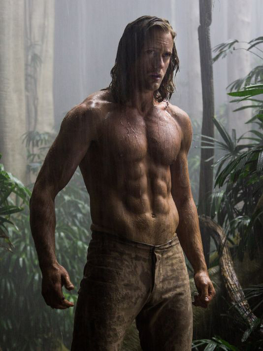 Alex, darling. I didn't see Tarzan. But I look at this still from that film every day.