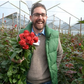"Juan Pablo Montufar  Founder & CSO The Bouqs Company  ""A better online flower experience""    i"