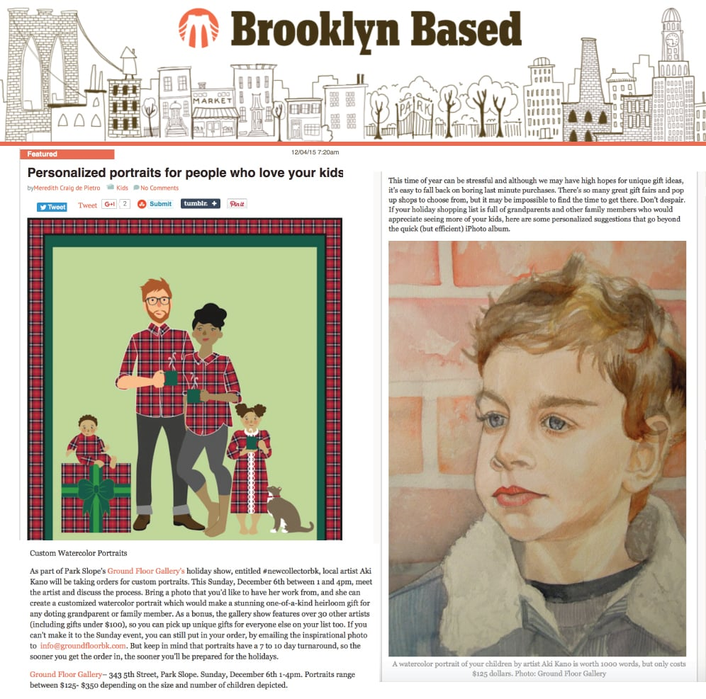 Brooklyn Based Blog- December 4, 2015